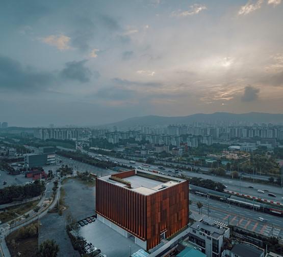 Genesis' second standalone car retail location, in Suji, South Korea