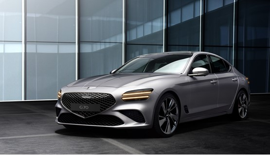 The recently-unveiled new Genesis G70 premium saloon