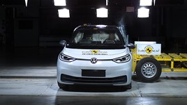 Volkswagen ID.3 awarded a five-star Euro NCAP safety rating