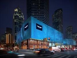 Genesis brand centre in Shanghai