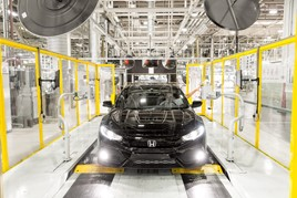 Honda Civic production line, Swindon