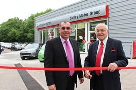 Colley Mitsubishi opens new £250,000 showroom