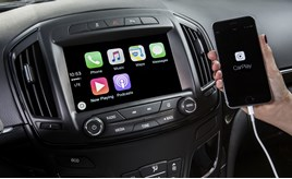 Vauxhall Apple CarPlay