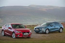 Mazda3 hatch and fastback