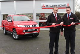 Dealer Principal Ray Kemp (right) and Sales Manager Simon Lacey
