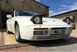 Porsche 944T up for auction from Specialist Cars, Malton