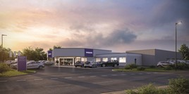 Cameron Motor Group's £2m Strathmore Volvo Perth showroom
