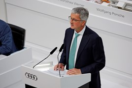 Former Audi chief executive, Rupert Stadler