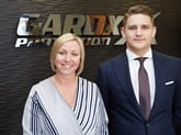 Head of AD-Vantage Victor Lloyd Coutin and head of sales Amanda Massey