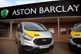 Aston Barlcay partnership with the AA and VMS Group