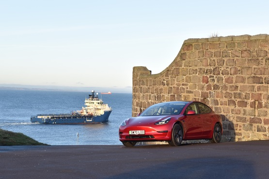 Tesla's new Aberdeen store its its most Northerly retail location in the UK