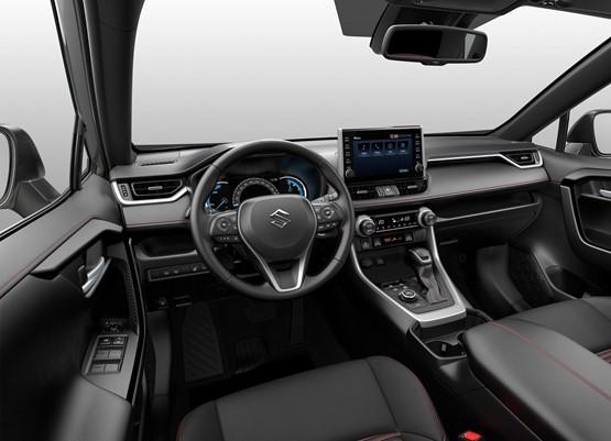 Suzuki ACROSS plug-in hybrid SUV interior