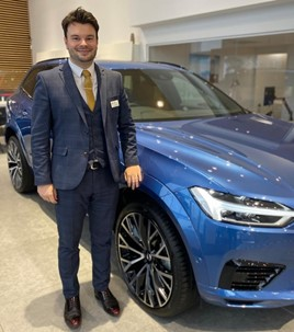 Adam Street, general sales manager at Ocean Automotive's Volvo Cars Poole dealership