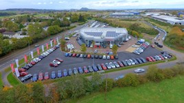 Alex F Noble & Son's Nissan premises at Straiton by Loanhead