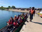 TrustFord Dagenham's staff in their dragon boat