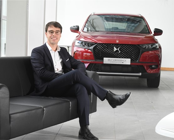 Alain Descat, head of brand, DS Automobiles