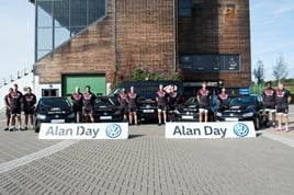 Alan Day VW Saracens partnership