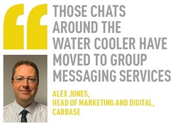alex jones,  head of marketing and digital, carbase