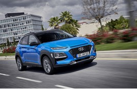 Hyundai's new Kona Hybrid crossover