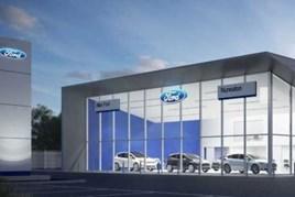 Allen Ford showroom proposal