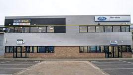 TrustFord's 20,000 square foot service and PartsPlus aftersales centre in Alperton