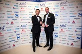 Alphera's Gerry Kouris and Spencer Halil celebrating the Motor Finance award win