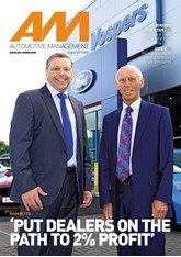 AM Automotive management - cover August 2017 - Vospers