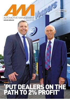 AM Automotive management - cover August 2017 - Vospers