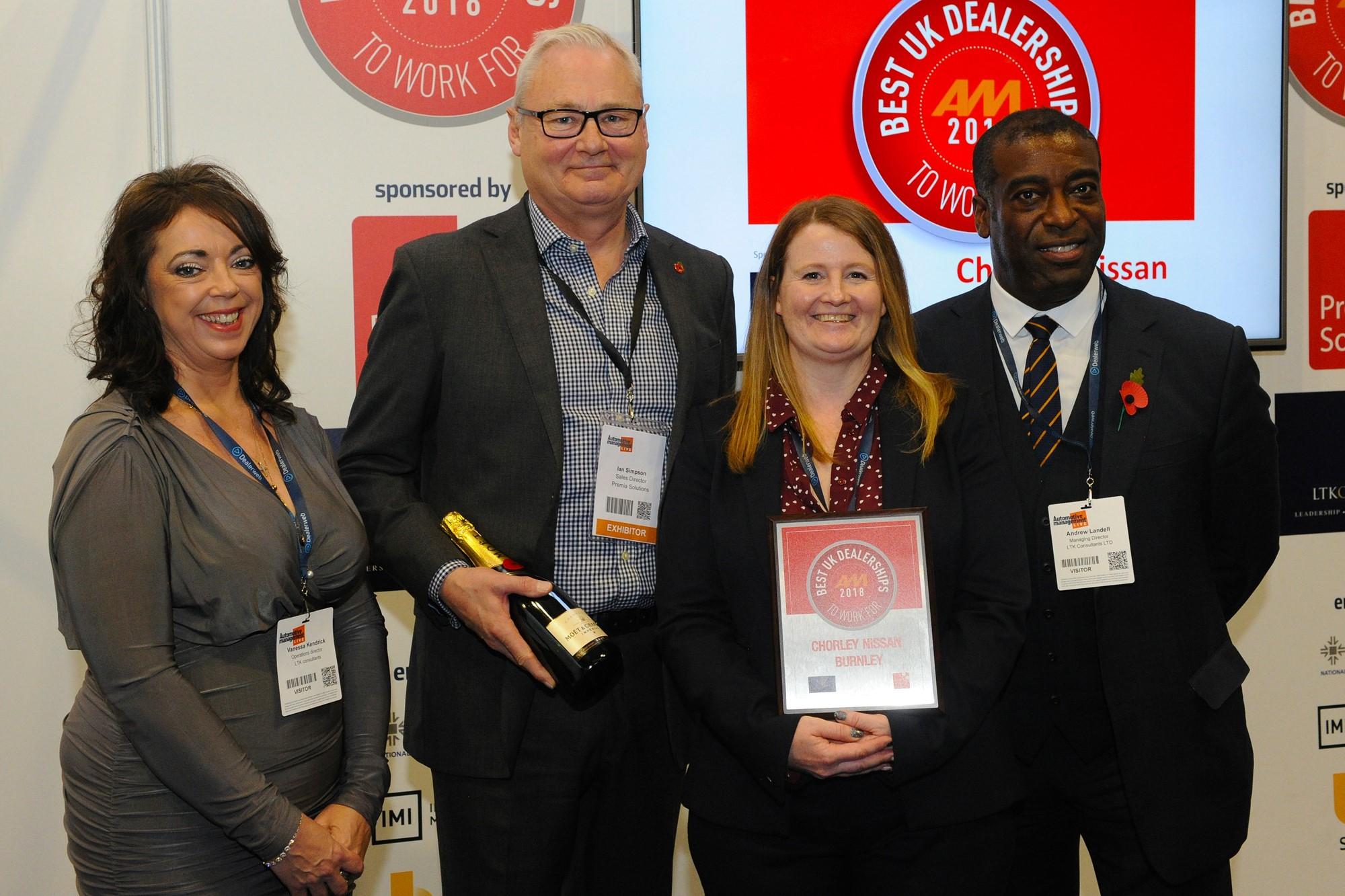 AM Best UK Dealership 2018 Chorley Nissan