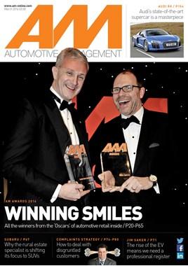 AM Automotive management cover March 2016