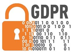 GDPR lock and code