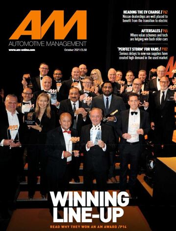 AM Magazine cover, October 2021 edition