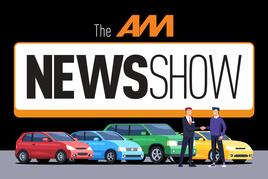 The AM News Show podcast logo