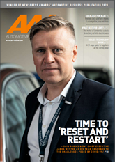 AM November 2020 cover showing James Weston, chief executive of Robins & Day.