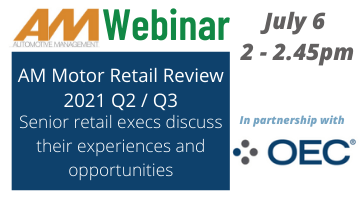 AM webinar: Motor Retail Review July 6