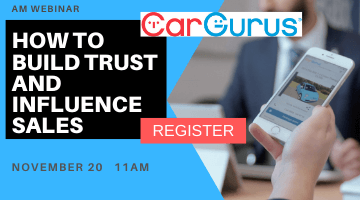 AM CarGurus webinar Oct 2019
