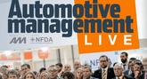 Automotive Management Live logo and delegates