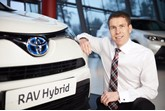 Andrew Cullis, marketing director at Toyota GB
