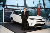 Toyota GB marketing director Andrew Cullis