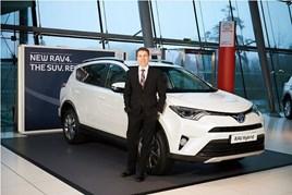 Toyota GB marketing director Andrew Cullis