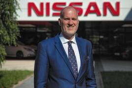 Nissan GB managing director, Andrew Humberstone