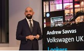 Volkswagen UK director Andrew Savvas