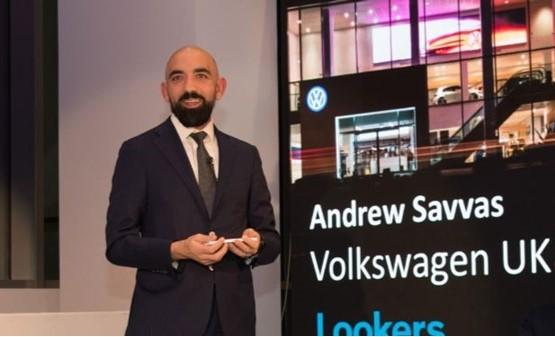 Volkswagen UK director Andrew Savvas