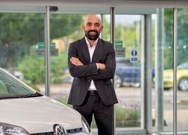 Volkswagen UK brand director, Andrew Savvas