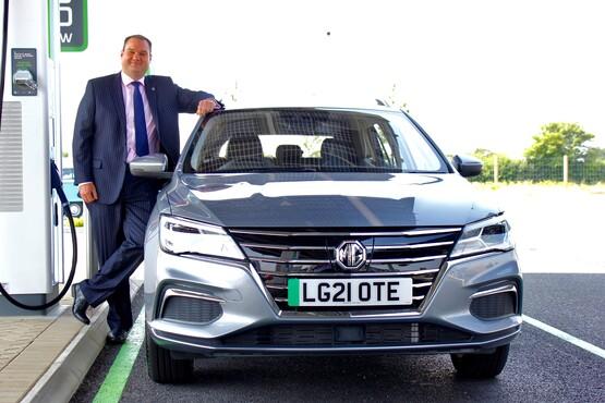 MG Motor UK head of sales Andrew Stewart