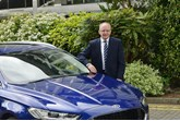 Ford of Britain former chairman and managing director, Andy Barratt