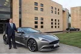 Outgoing: Dr Andy Palmer, Aston Martin CEO