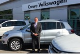 Andy Poole at Swansway's Crewe Volkswagen centre