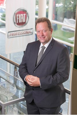 Andy Waite Fiat national sales manager