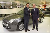Motor Village UK supplies new Alfa Romeo Giulietta to Italian ambassador Pasquale Terracciano